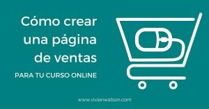 Cómo crear una página de ventas