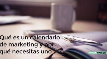Calendario de markeeting