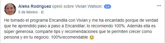 Encandila Vivian Watson