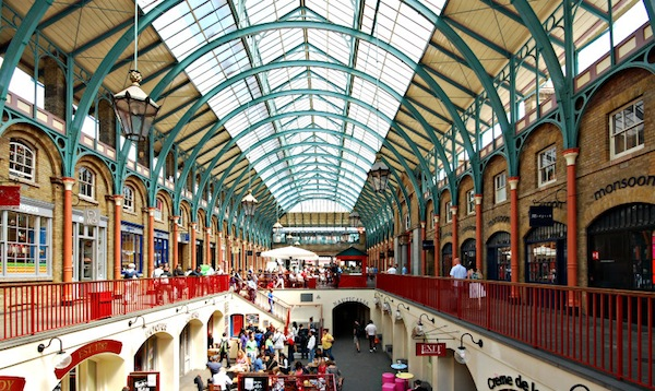 Nel cuore di Londra, Covent Garden. Per fare shopping e per divertirsi