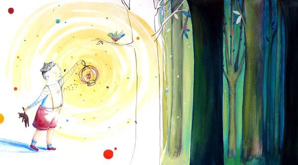 Cat Zaza e l'arte di illustrare i libri per bambini