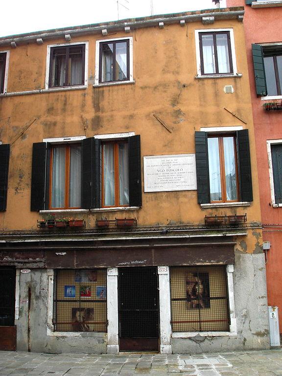 Venezia casa di Foscolo