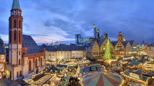 Il mercatino di Natale di Francoforte