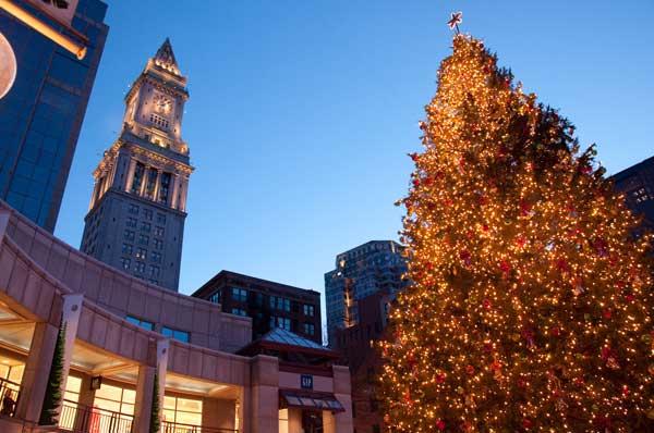 Natale a Boston in cinque parole
