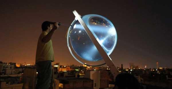 Rawlemon la sfera che produce energia