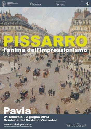 Pissarro e l'anima dell'impressionismo in mostra a Pavia