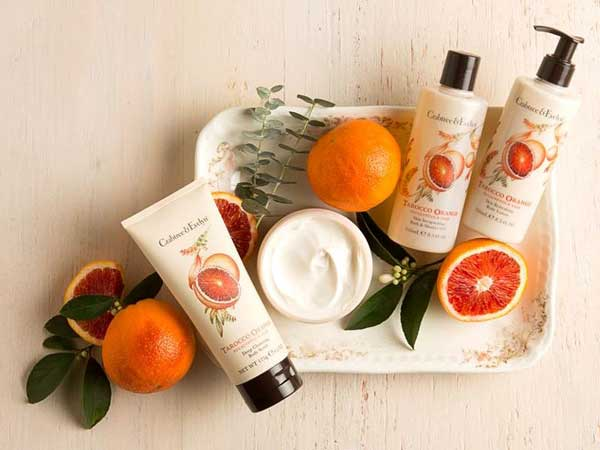 Remise en forme di primavera con i prodotti Tarocco Orange di Crabtree & Evelyn