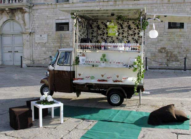 Bar different – in Puglia arriva il bar a domicilio su Apecar