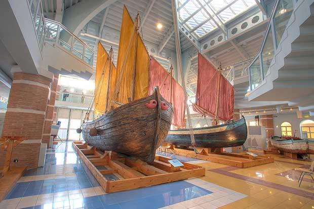 Il Museo della marineria e il Porto Canale Leonardesco di Cesenatico