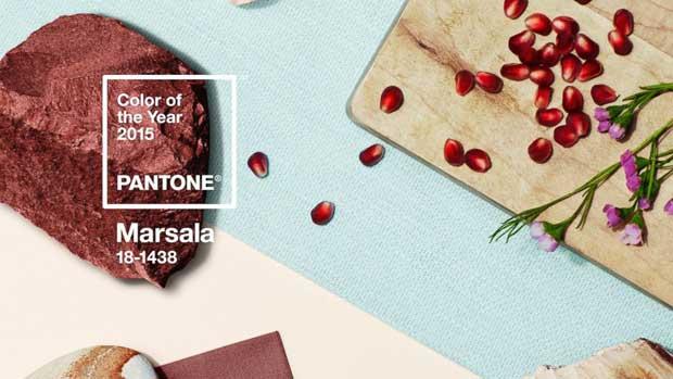 Marsala colore dell'anno 2015 secondo Pantone