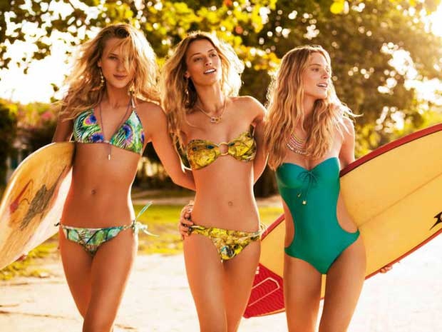 Costumi da bagno di tendenza per l'estate 2015