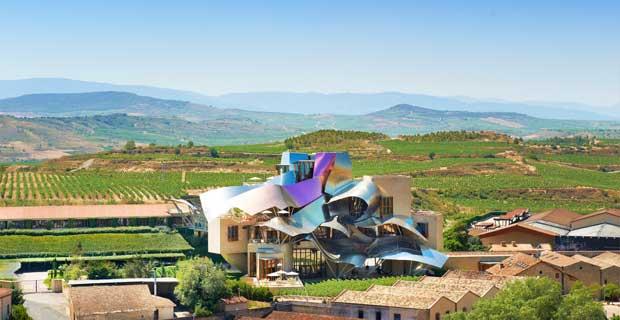 Cantine d'autore in Spagna – le nuove cattedrali del vino