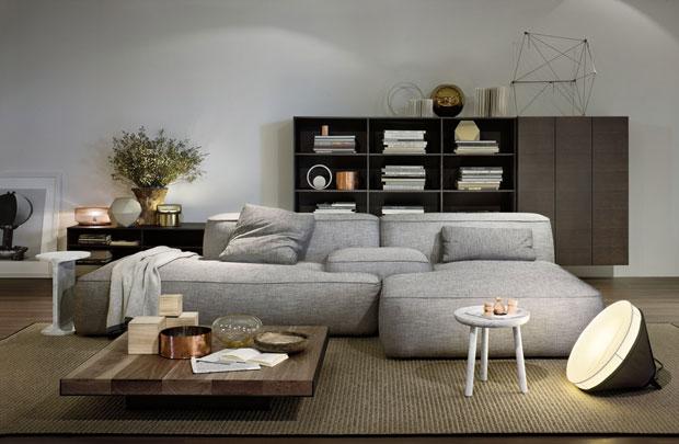 Come e dove utilizzare il grigio per arredare la zona living con stile