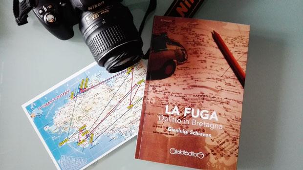 """Viaggio in Bretagna con """"La Fuga"""" l'ultimo romanzo di Gianluigi Schiavon"""