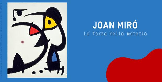 Joan Mirò, la forza della materia – la mostra al Mudec di Milano