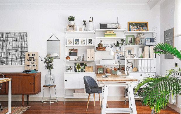 Organizzare Ufficio In Casa : Come organizzare un ufficio in casa di stile e funzionale viviconstile
