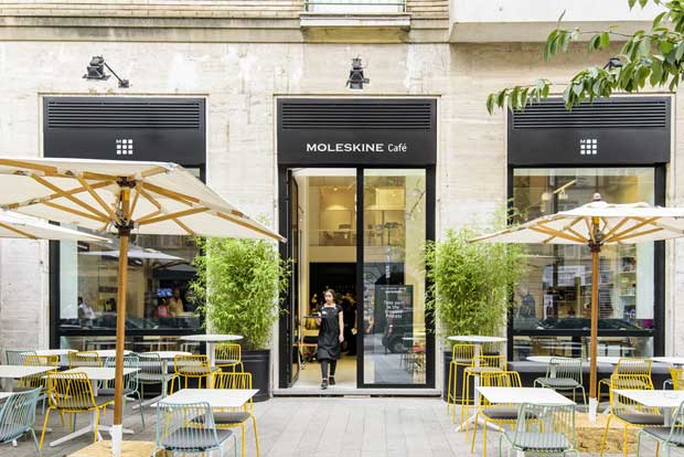 Moleskine Cafè: caffè letterario nel cuore del Brera Design District