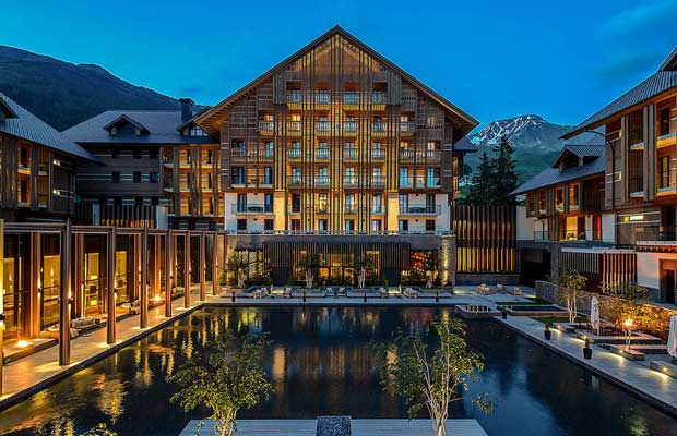 The Chedi Andermatt – hotel di lusso in Svizzera