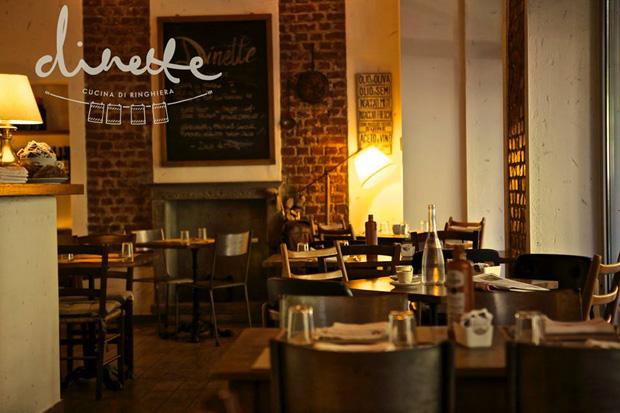 Dinette – la cucina delle mezze porzioni (da ballatoio) a Milano