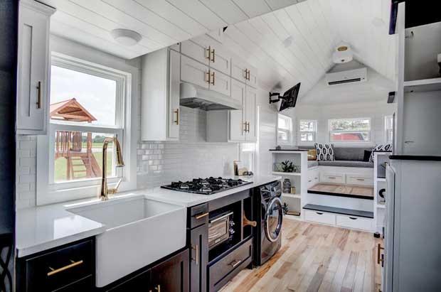 Tiny house, la moda delle mini case Made in USA