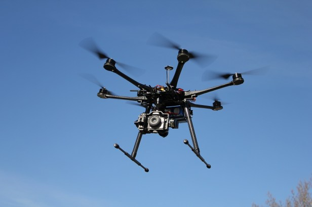 DJI S1000 with Canon D6