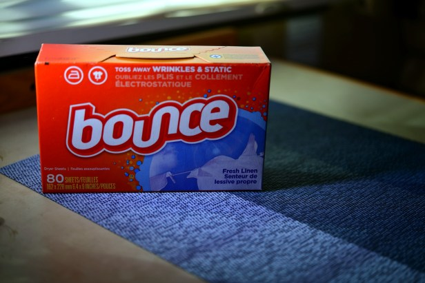 bounce fabric softner sheets