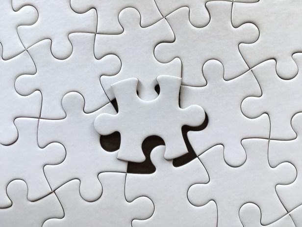 Full Frame Shot Of Jigsaw Puzzle
