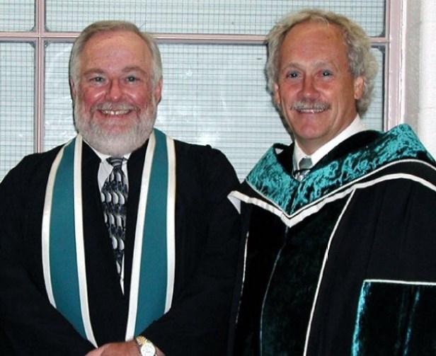 Centennial College 2003 Alumnus of the Year with Richard Johnson