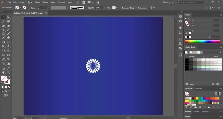 Drawing a Mandala in Adobe Illustrator