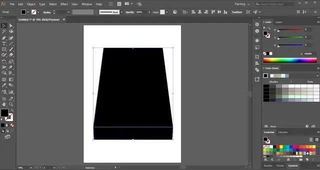 Wrap Text in Adobe Illustrator