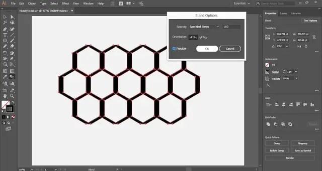 Honeycomb Vector in Adobe Illustrator Tutorial