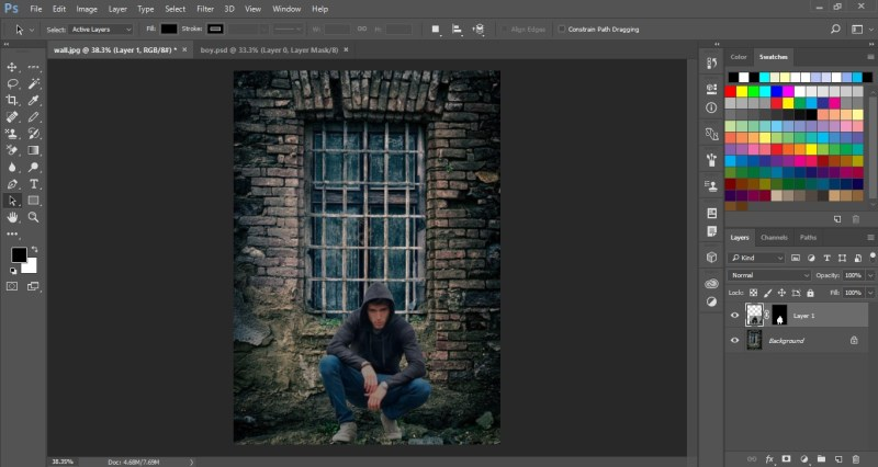 Match Color in Photoshop