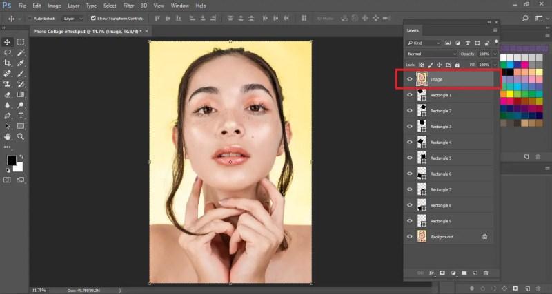 Rearrange the Image Layer