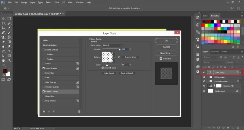 Apply Pattern Overlay