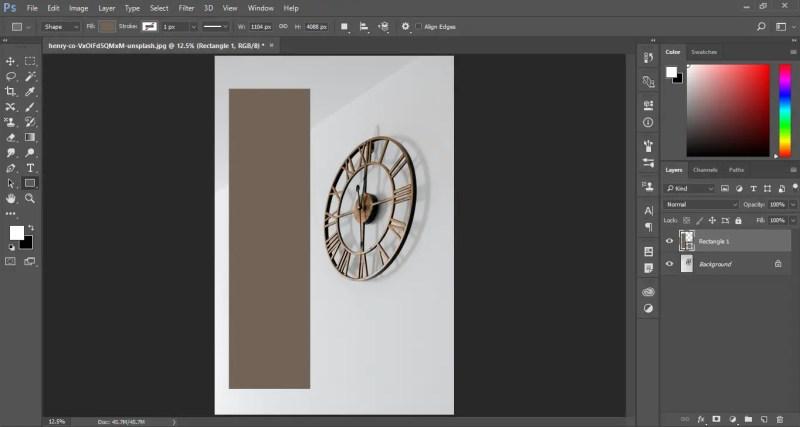 Draw the shape