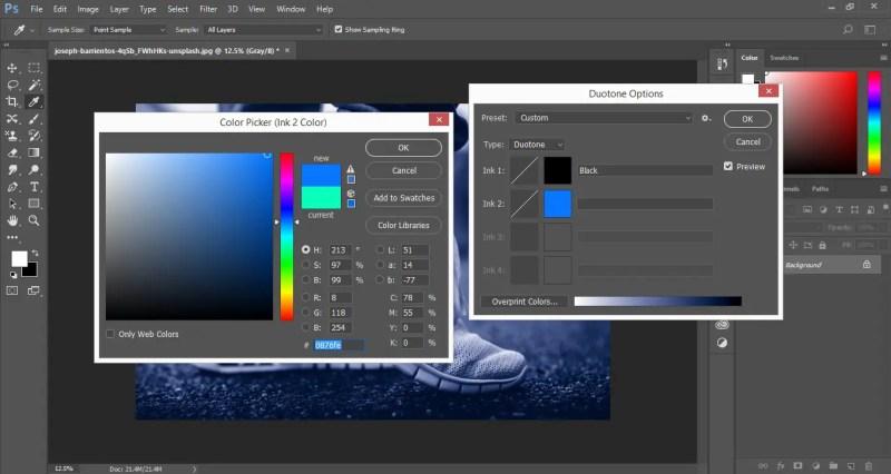 Select Duotone Colors