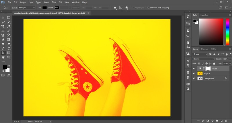 Duotone Effect In Photoshop.