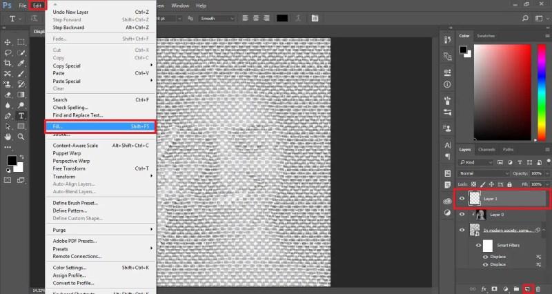 Create New Fill Layer