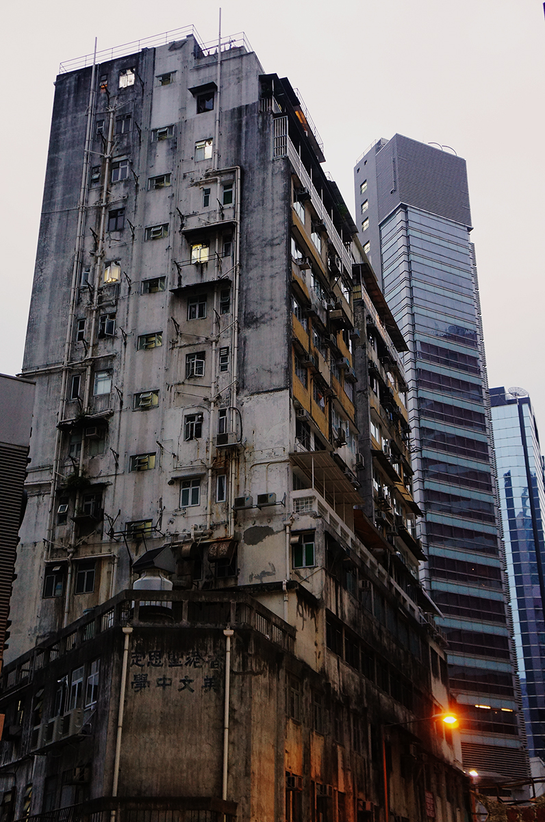 Dichotomies exist in all cities. The old and the new. Hong Kong's captured me.