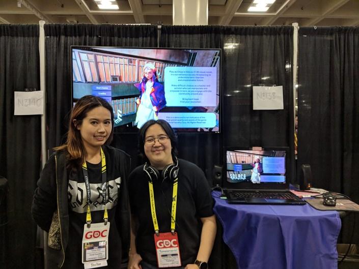 Solace State Tanya Kan and Gabi Kim Passos at GDC 2019