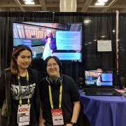 Solace State Tanya Kan and Gabi Kim Passos at GDC 2019