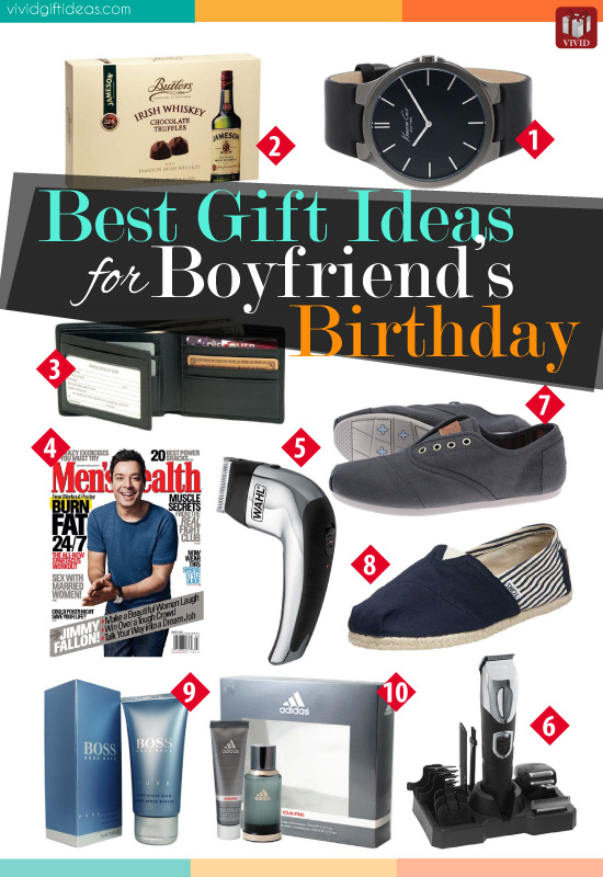 Gift Ideas For Boyfriend List