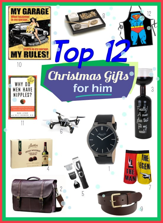 Top Christmas Present Ideas For Him Vivids Gift Ideas