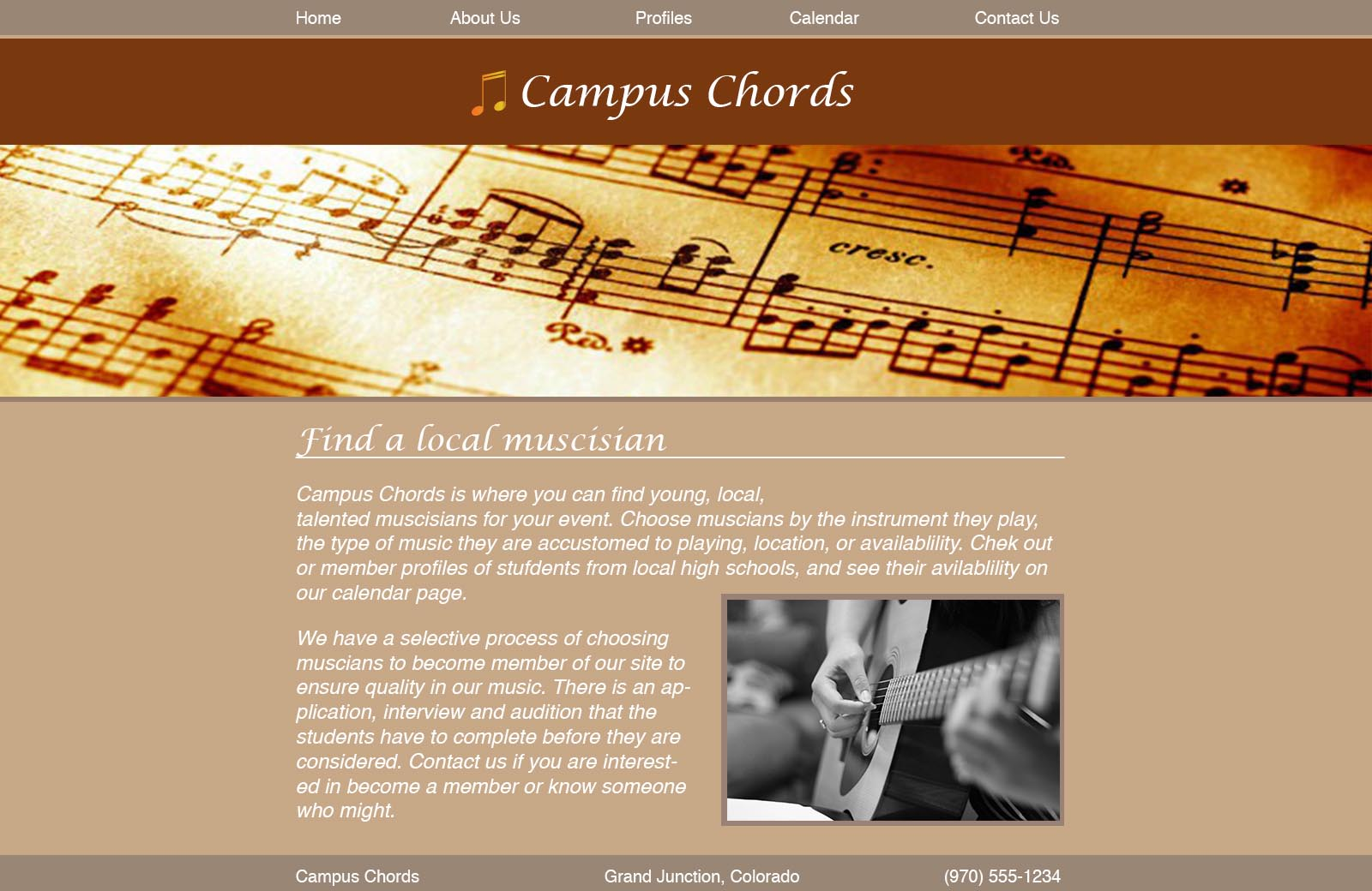 Campus Chords Home Sml