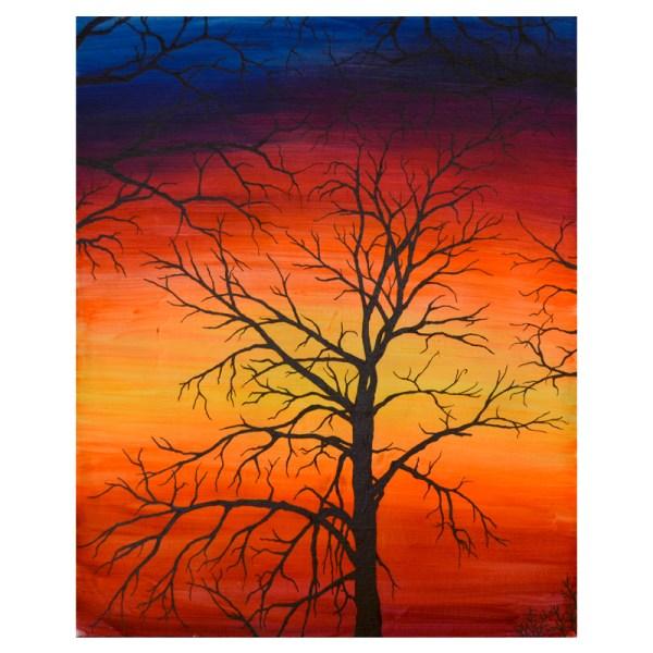 Eerie Sunset 1