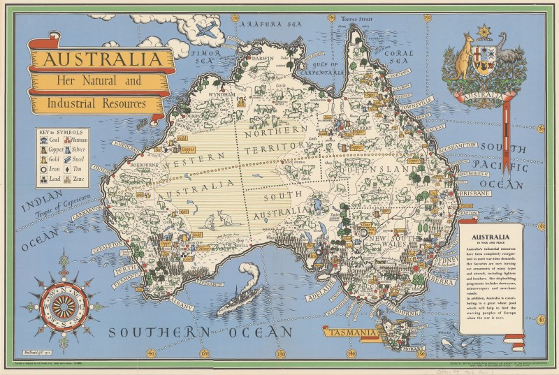 Australia her natural and industrial resources (1942)