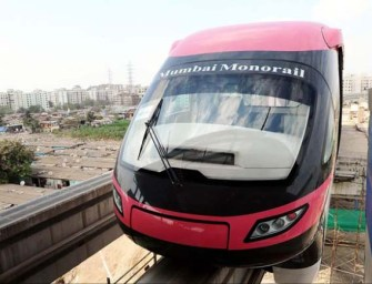 Mumbai Monorail Conducts Test Runs on First Phase
