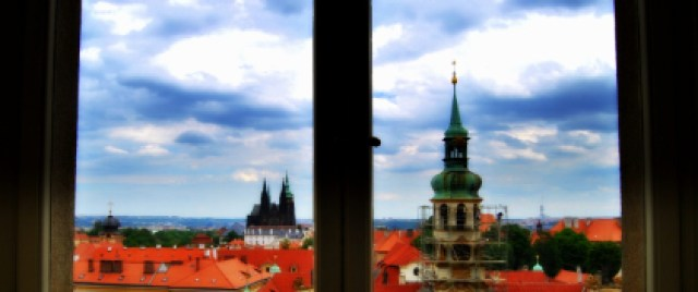 Praga desde ventana