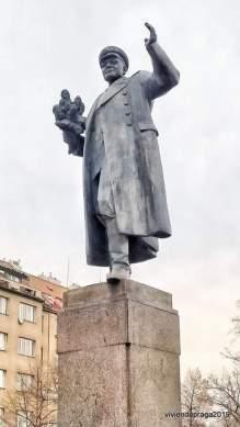 Estatua Mariscal Kónev