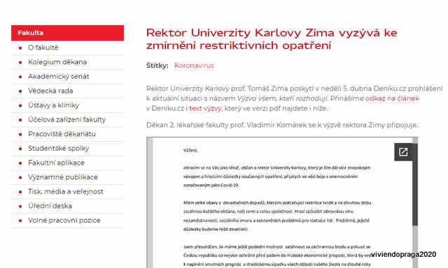 pedido rector Zima